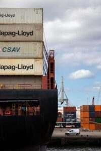 loaded ship
