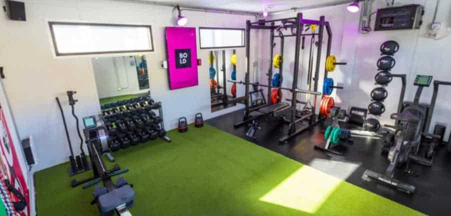 shipping container gym business idea